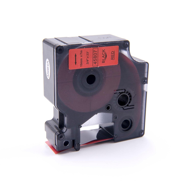 Cassette Cartouche Ruban 19mm vhbw pour Dymo Labelpoint 300, 350 comme Dymo D1, 45807. VHBW4251004674209