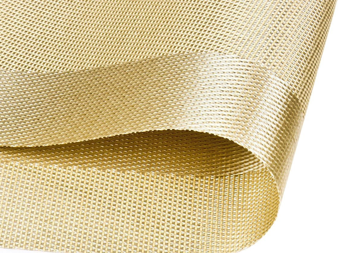 Fanuk Nonslip Insulation Washable Pvc Placemats Mats For Dining Table Set  Of 6 (gold): Amazon: Kitchen & Home