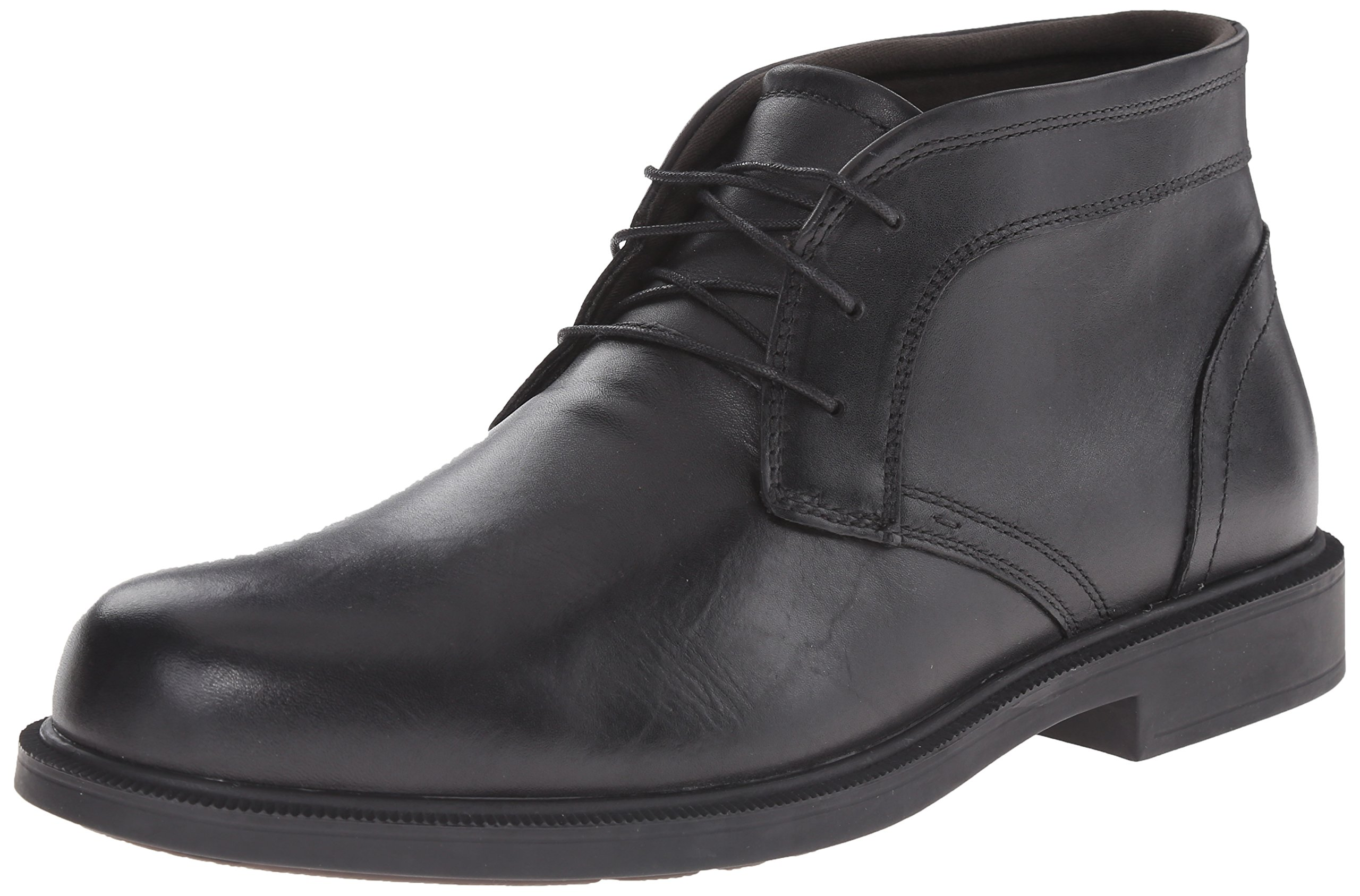 Dunham Men's Johnson Waterproof Boot,Black,12 4E US