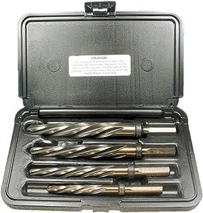 Viking Drill and Tool 12271 CR4-FS 4 Piece Set Type 51-UB Fast Spiral Flute Magnum Super Premium Car Reamer