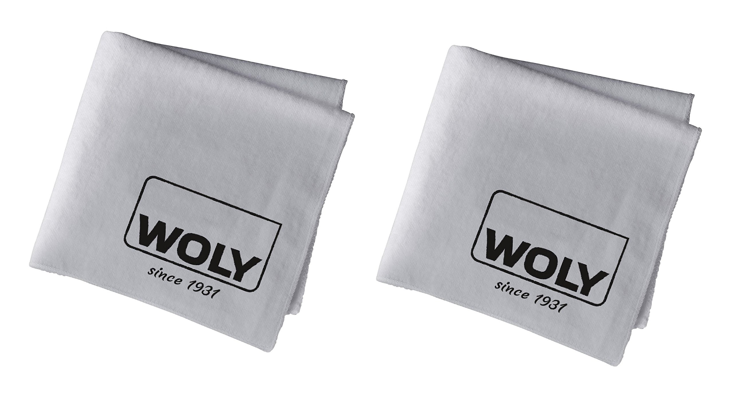 2 Woly Polishing Cloth. Professional Shine Cloth for Polishing Your Shoes, Boots, Handbags, Clothes for High-gloss Shine - Pack of 2.