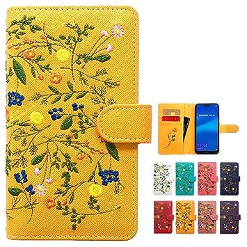 350c3327a0 iPhone7 iPhone8 ケース カバー ボタニカル 花 刺繍 手帳 手帳型 iPhone8ケース iPhone8カバー iPhone8手帳