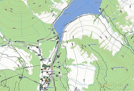 Suiza Garmin tarjeta Topo 4 GB MicroSD. Mapa Topográfico de GPS ...