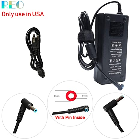 120W AC Adapter Charger Replacement for HP OMEN 15 17 15-ax243dx,  17-w053dx, 15-ax001ns, 15-ax033dx, 17-w033dx, 15-5010nr, 15-5220nr,  15-5210nr,