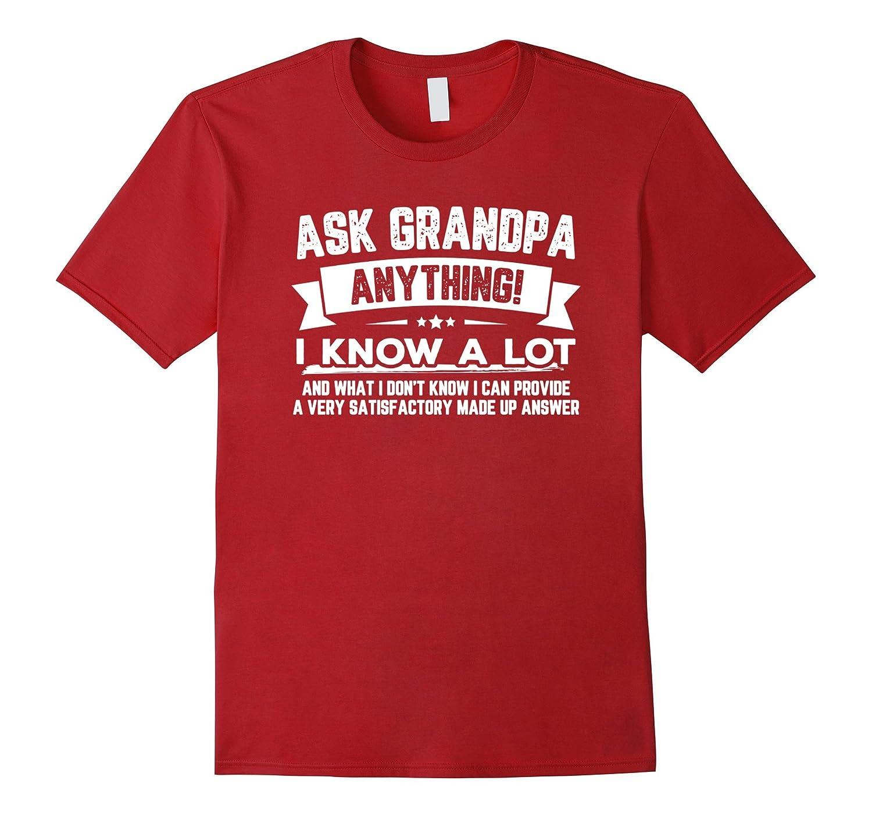 Grandpa Anything Funny Fathers T Shirt-Teeae