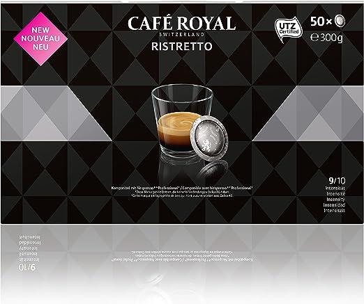 Café Royal Ristretto 300 cápsulas compatibles para Nespresso (R ...