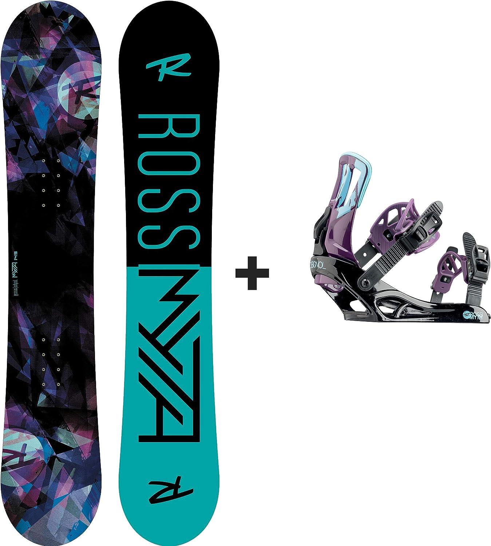 Rossignol – Pack Snowboard Myth amptek + Myth S/M Violet Mujer ...