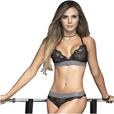 Mapalé 2495 2/3 Piece Set Athletic Sexy Underwear for Women Ropa Intima Para Mujer