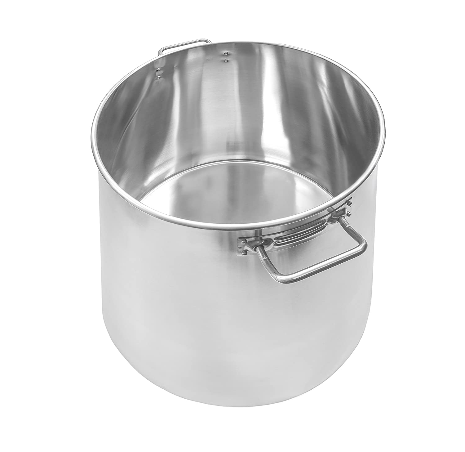Concord Cookware S3539S Stainless Steel Stock Pot Cookware, 40-Quart