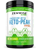 Keto BHB Salts + MCT Oil Powder - Ketogenic Diet Supplement with goBHB+MCT - Beta Hydroxybutyrate Exogenous Ketones + C8 & C10 Triglycerides - Ketosis + Energy & Weight Loss - Smooth Lime -12.5 OZ