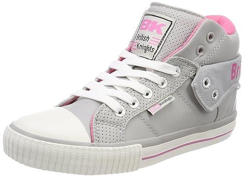 British KnightsRoco - Zapatillas Mujer, Color Gris, Talla 37 EU