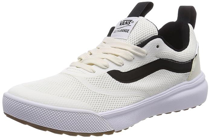 Vans Ultrarange Rapidweld Schuhe Kinder Erwachsene Weiß mit Schwarzem Streifen