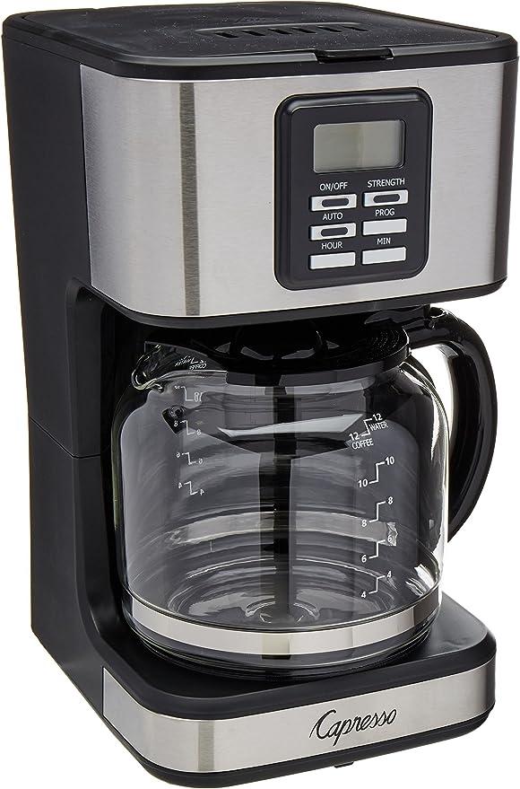 Amazon.com: capresso sg220 12 Copa Cafetera eléctrica con ...