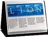 Lion Flip-N-Tell Display