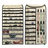 Btromeshy Hanging Jewelry Organizer,Double Sided 56