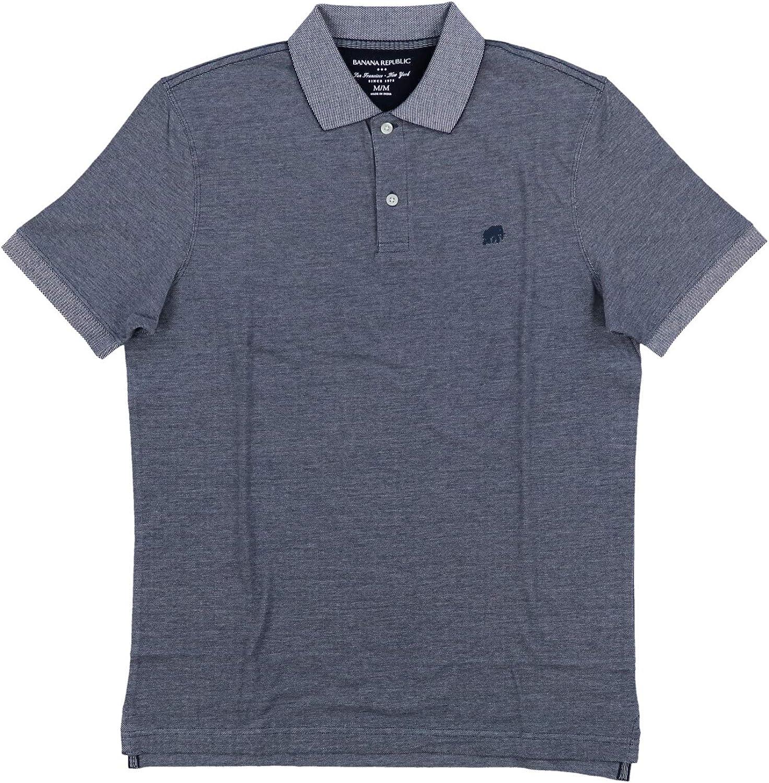 Amazon.com: Banana Republic Factory Men's Classic Fit Polo Shirt ...