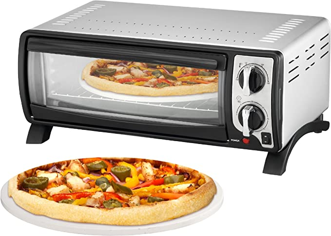 Team Kalorik TKG MBO 1000 Horno con piedra para pizzas,