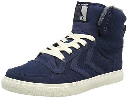 Hummel Stadil Winter Hi Unisex Adults Hightop Trainers Blue Dress
