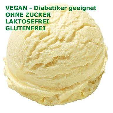 1 kg de helado con helado de frutas Gusto neutro Hielo en polvo VEGANO - AZÚCAR