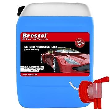 Anticongelante Brestol, 10 litros, listo para usar, hasta -20 °C,
