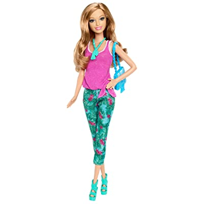 Barbie Fashionista Summer Doll: Toys & Games