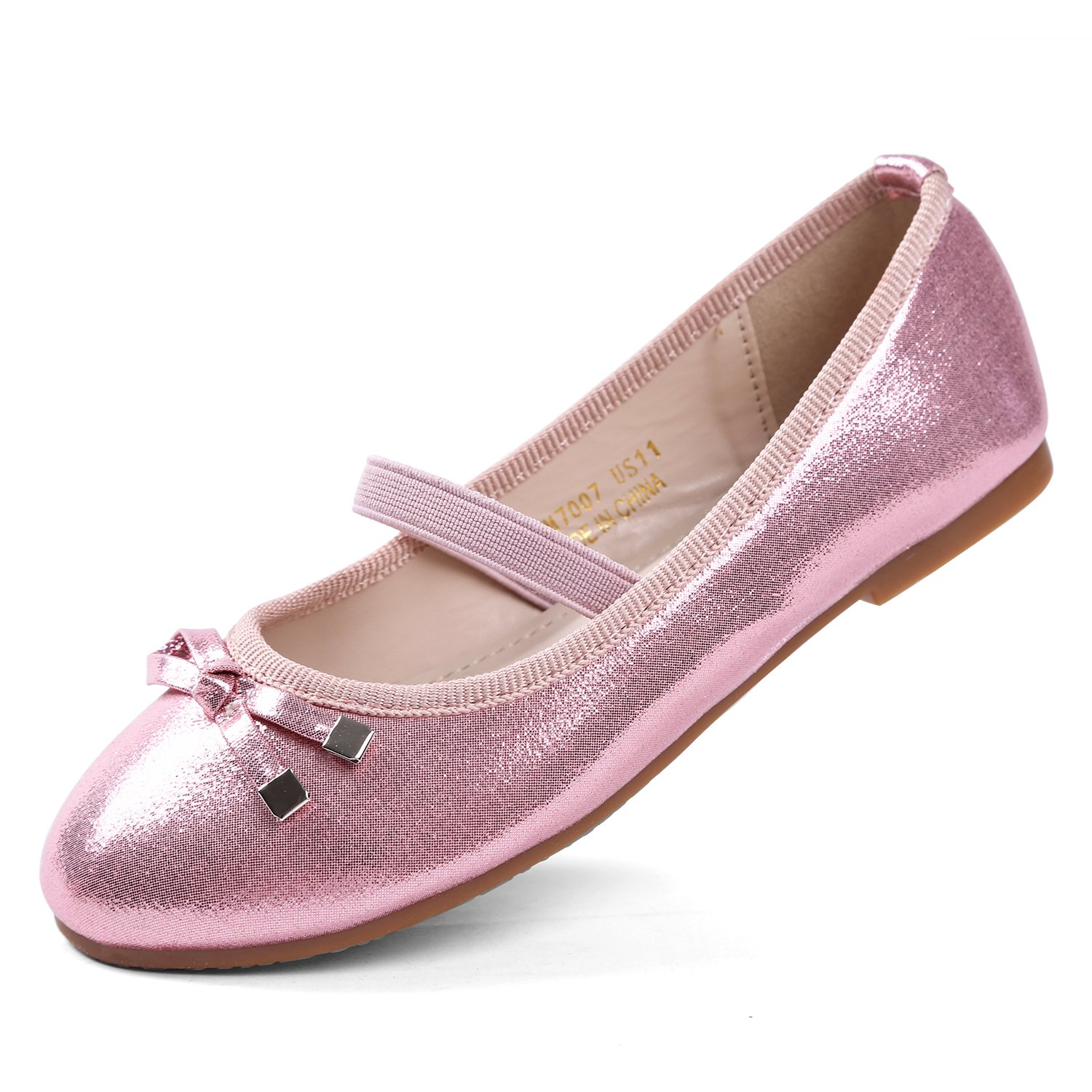 EIGHT KM EKM701 Toddler & Girl's Ballet Flats Mary Janes Dress Shoes B07BFC4V1M 10.5 US Little Kid|Ekm7007-pink