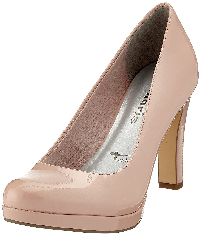 Tamaris 22426, Zapatos con Plataforma Para Mujer 38 EU|Rosa (Rose Patent)