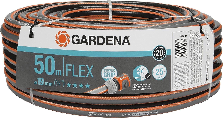 """Gardena highflex Hose 10x10 3//4/"""" 50m 18085"""