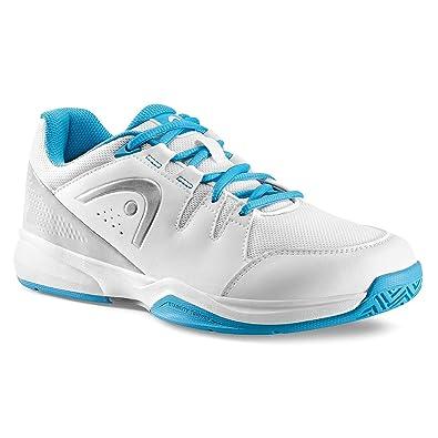 Head Brazer Women, Chaussures de Tennis Femme, (White/Blue), 36.5 EU
