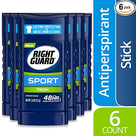 Right Guard Sport Antiperspirant Deodorant Invisible Stick