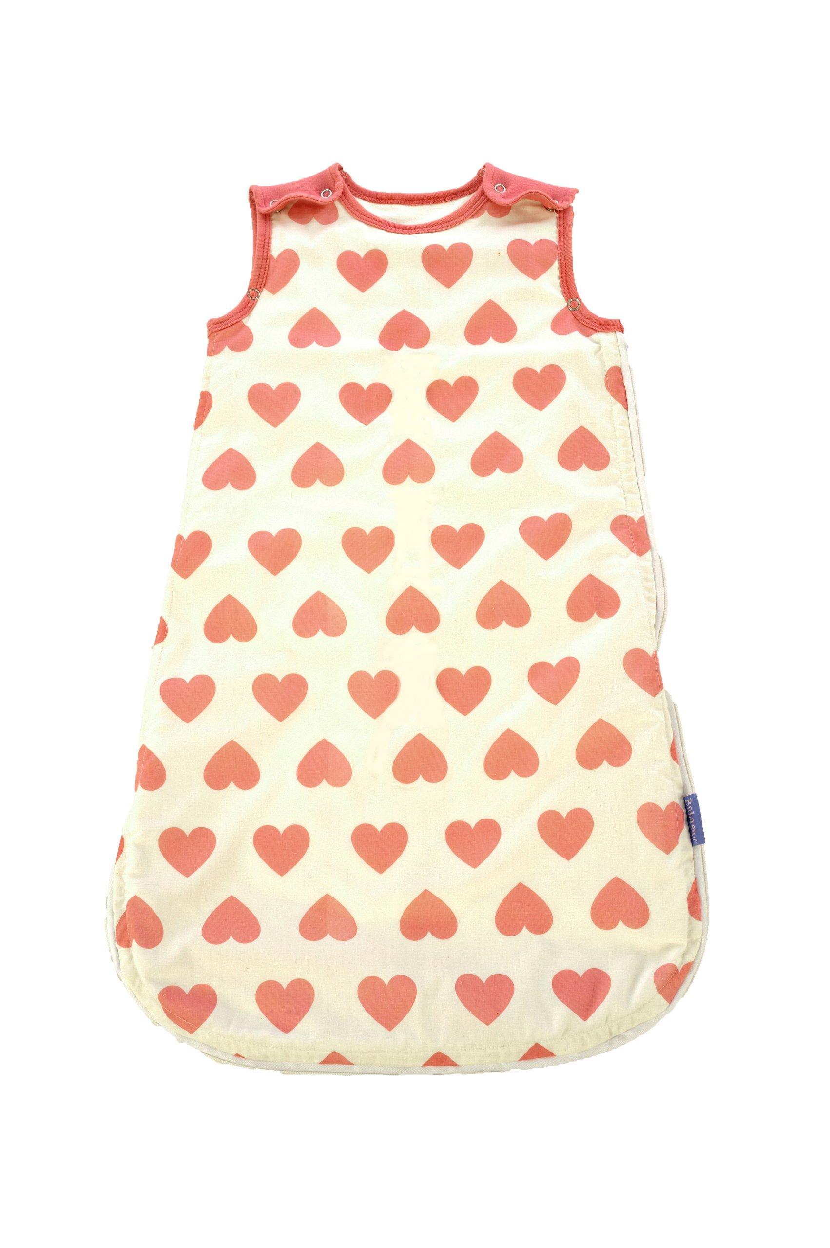 Babasac Multi Tog Baby Sleeping Bag Heart for 6 - 18 Months