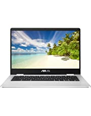 ASUS Chromebook C423NA (Grey) (Intel Celeron N3350, 4 GB RAM, 32 GB eMMC, 14 Inch HD Screen, Chrome OS)