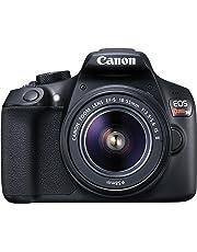 Canon EOS Rebel T6 Digital SLR Camera Kit with EF-S 18-55mm f/3.5-5.6 IS II Lens (Black)