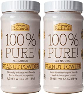 product image for Crazy Richard's 100% Pure Peanut Butter Powder 6.5 oz Jar (100% Pure Peanut Butter Powder 6.5 oz, 2 Jars)