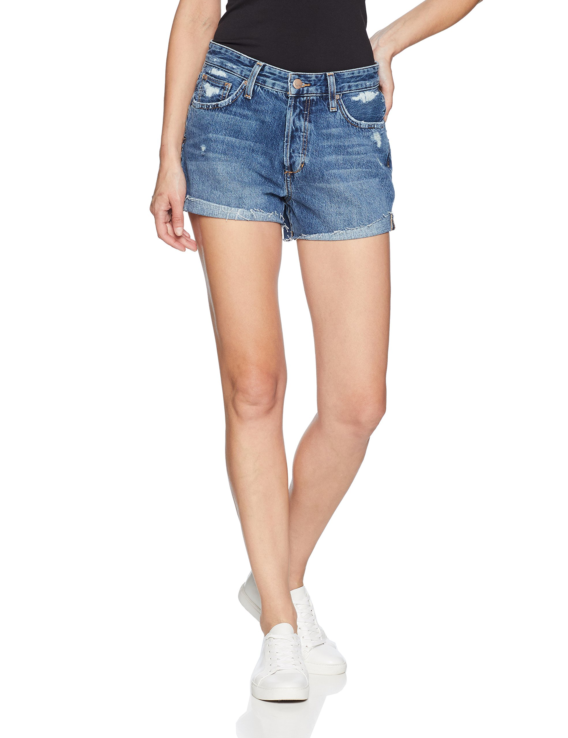Joe's Jeans Women's Lover Midrise Boyfriend Short, Tamryn, 29