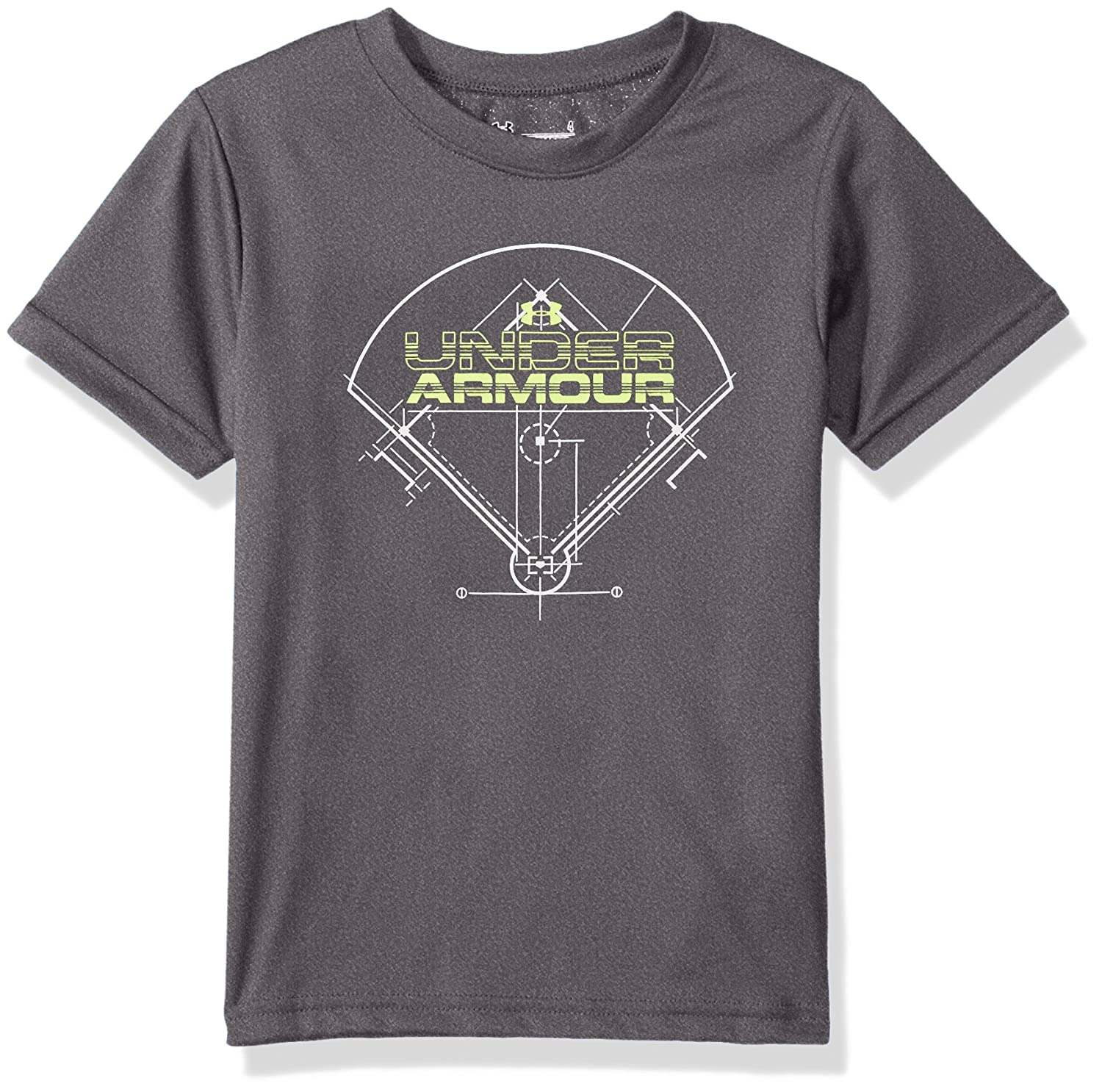 Under Armour SHIRT ボーイズ 4 Carbon Gray B01N64JE3U