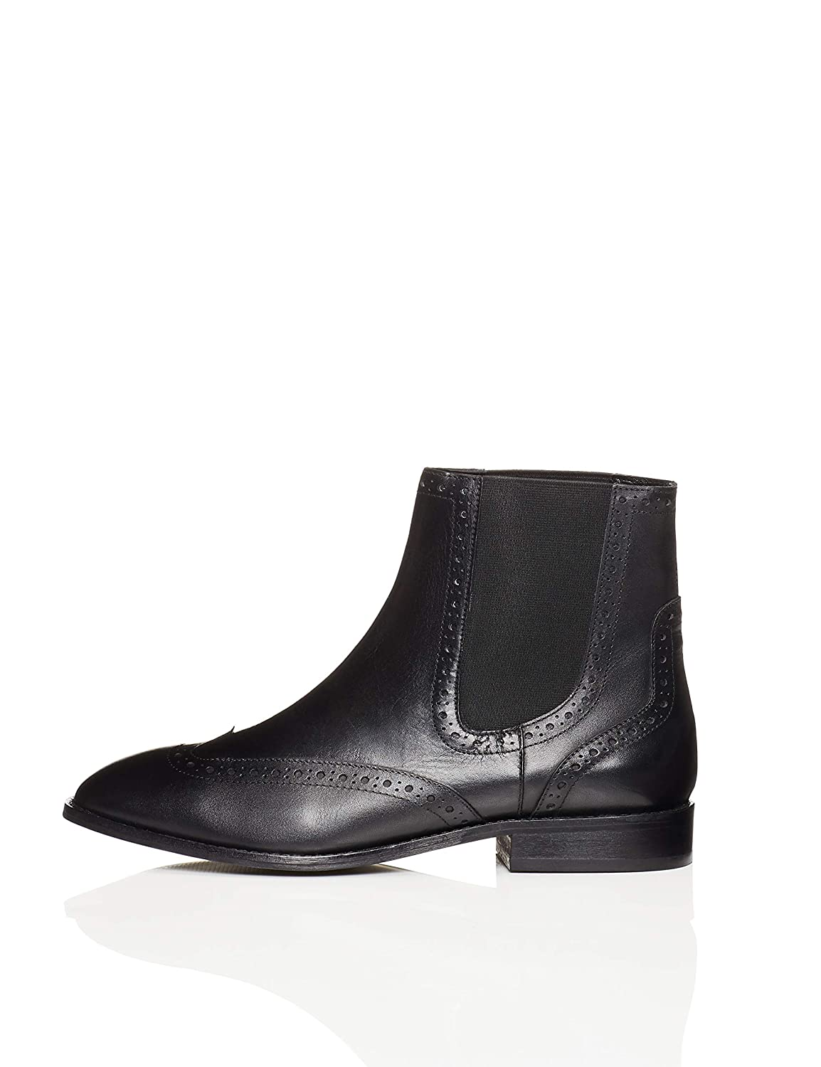 b58bd511266e4 FIND Botines Tipo Brogue Mujer ANDY-1W4-021
