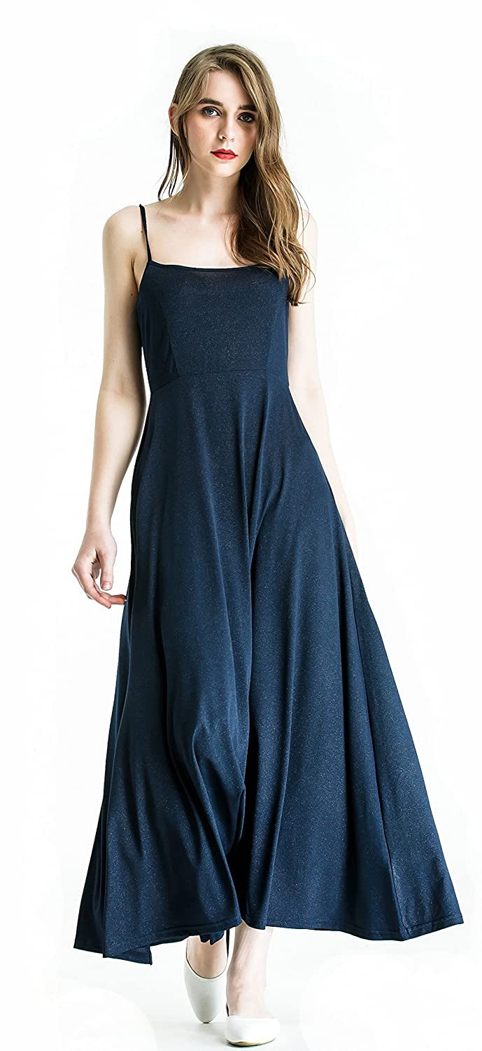 dae9c3cf6210 EXQUISITE DESIGN--The slip dress's special dimensional cut, side slit  design and the square design of ...