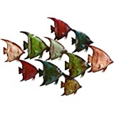Deco 79 63533 Metal Fish Wall Decor