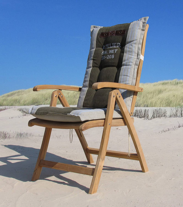 Teak Sessel Mit Kissen Kane Gartenstühle Klappstuhl Teak Holz