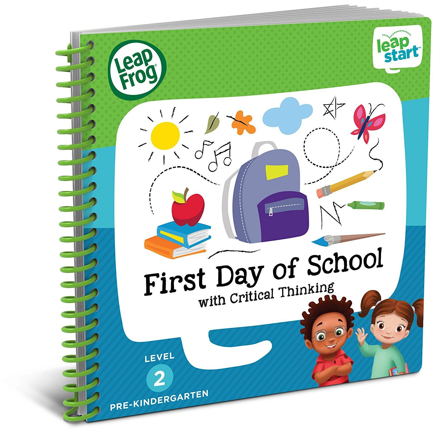 LeapFrog LeapStart Preschool, Pre-Kindergarten Interactive Learning System For Kids Level 2 Ages 2-4 With Junior Activity Books: STEM, Math, Read & Write & First Day School Fun Activity Bundle by LeapFrog (Image #6)