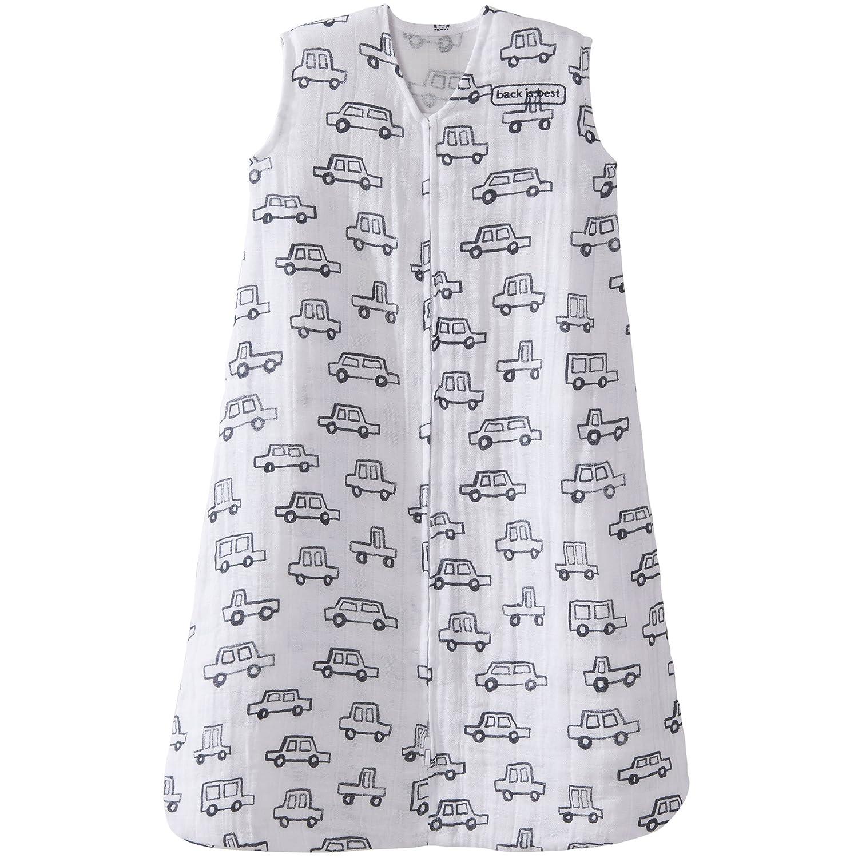 Halo 100/% Cotton Muslin Sleepsack Wearable Blanket Medium Circles Grey