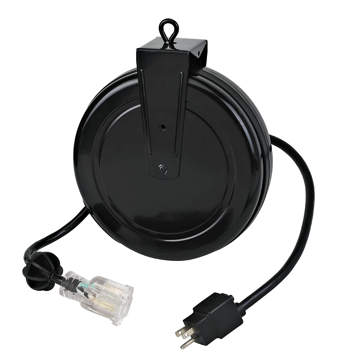 Amazon.com: Alert Stamping 5020TFC 12 Gauge Retractable Reel With Single  Outlet: Home Improvement