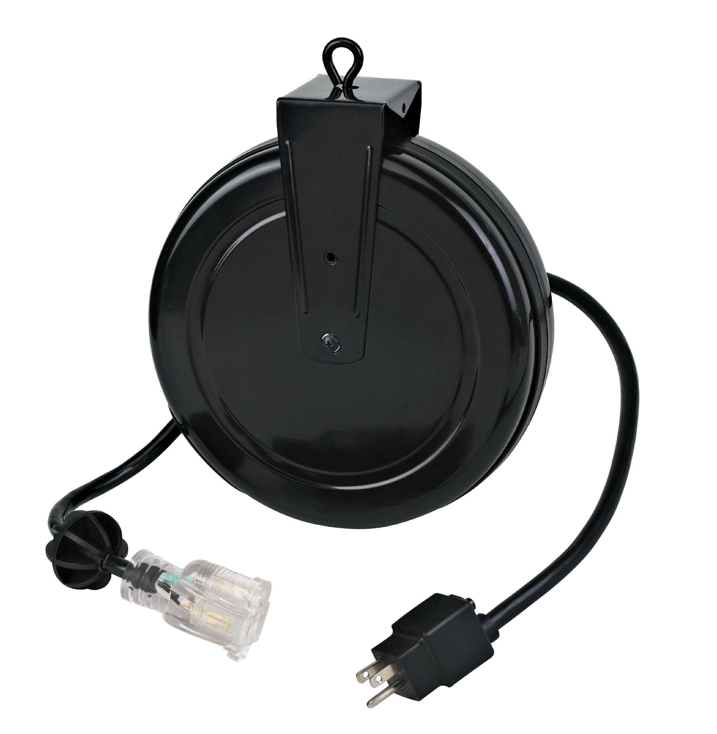 Alert Stamping 5020TFC 12 Gauge Retractable Reel with Single Outlet