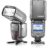 Neewer i-TTL 4-Color TFT Screen DisplayHigh-Speed Sync Camera Slave Flash Speedlite with Flash Diffuser for Nikon D3S D50 D60 D80 D80S D300 D700 D3100 D5000 D7000 and Other Nikon DSLR Cameras