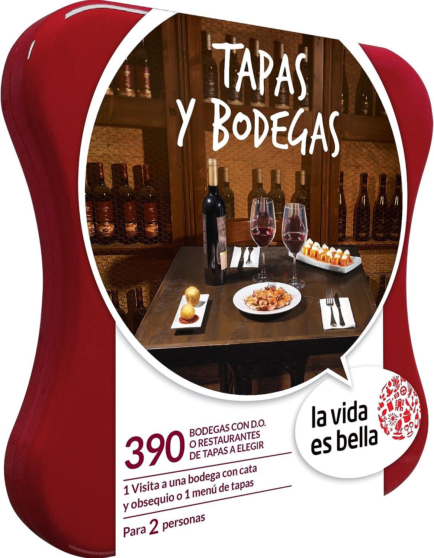 LA VIDA ES BELLA - Caja Regalo - TAPAS Y BODEGAS - 390 ...