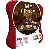 LA VIDA ES BELLA - Caja Regalo - TAPAS Y BODEGAS - 390 restaurantes de tapas