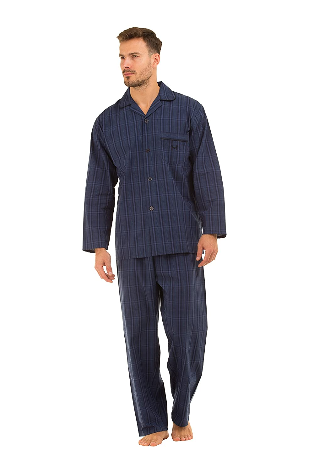 Haigman Mens Poplin 100% Cotton 7491 Pyjamas