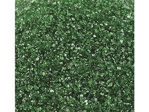 Sweetgourmet Green Sanding Sugar | Holiday Sprinkles & Nonpareils Decoration | 2 Pounds