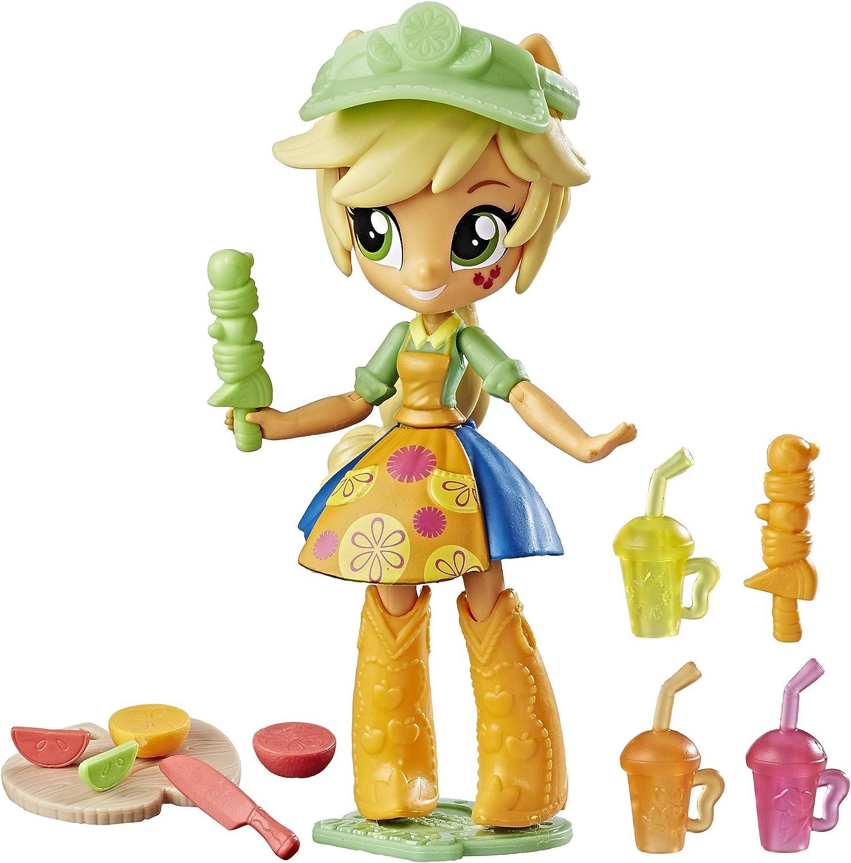 My Little Pony Equestria Girls Applejack Fruit Smoothies Shop Set